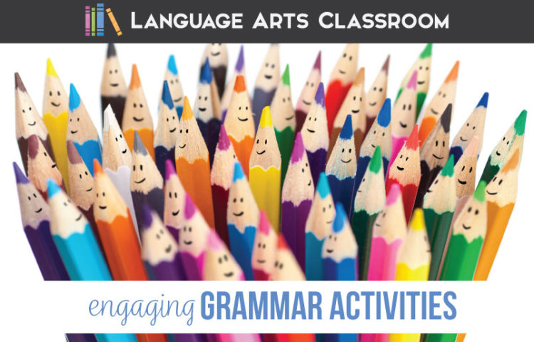 Grammar review can be engaging and meaningful. Review with older students in a variety of ways. Grammar activities in classroom can engage young ELA classes.