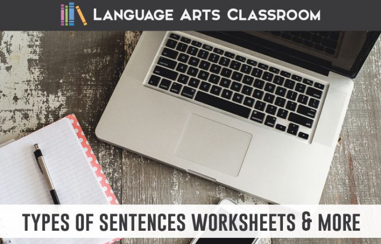 Looking for types of sentences worksheets? Try these approaches and activities while studying simple, compound, complex, and compound-complex sentences. #GrammarLessons #LanguageArts