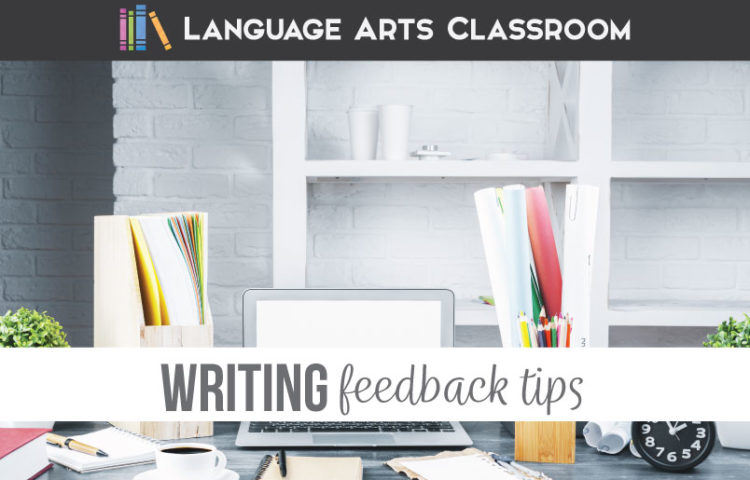 Providing writing feedback to students can be a lengthy process for secondary English teachers. Providing feedback to students is valuable, but high school English teachers cannot spend their weekends grading student essays. Writing feedback for students should be purposeful & specific for students to improve their own writing. Follow these teacher tips for giving feedback on writing in the high school language arts classroom.