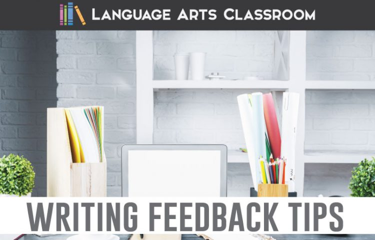 Stuck onproviding writing feedback to students? I have three quick ways to provide meaningful writing feedback to older students.#WritingLessons #HighSchoolELA