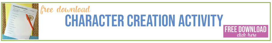 Creative writing lesson: character creation. Add this lesson plan for creative writing to your ELA classes. Free creative writing lessons.