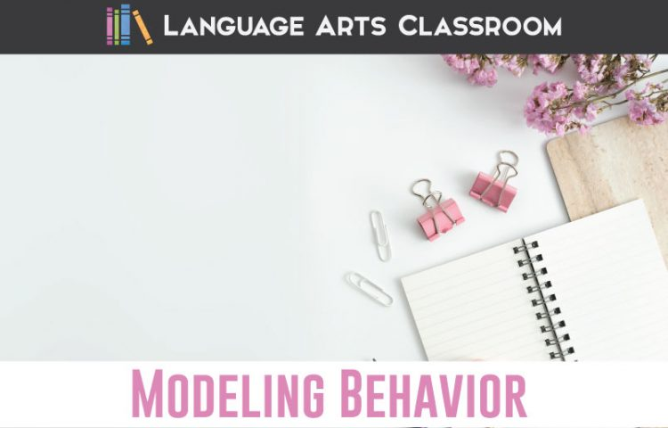 How can a teacher model behavior for students? A few teacher tricks to be the role model our students need. #StudentRelationships