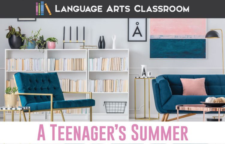 Are your teenagers home this summer with not much to do? Try these reading and writing activities to prevent the summer slide. #SummerSlide