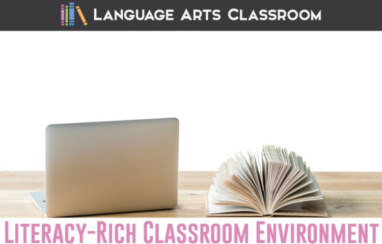 To create a literacy-rich secondary classroom, intentionally decorate and design your space. Work toward welcoming and simple approaches for older students. Here are some classroom decoration ideas. #Literacy