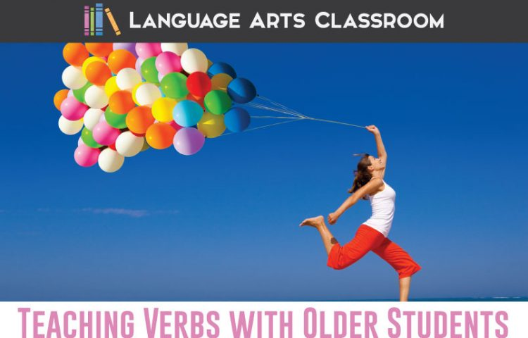 Teaching verbs with older students? Verbs are powerful tools in student writing, so let's treat them that way as we cover verb lessons.