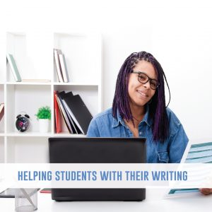 Help students with their writing by focusing them on one piece of feedback at a time. Don't overwhelm students, but help them find success with well-placed writing mini lessons.