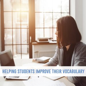 Improving student vocabulary is a powerful tool to help students with their writing. With a few activities, students will discover words to excel their papers. Vocabulary can be an addition to mini lessons for writing.