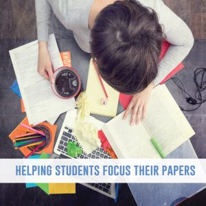 Helping students focus their writing topic before they begin drafting their work makes the writing process more successful. #WritingActivities #WritingLessons