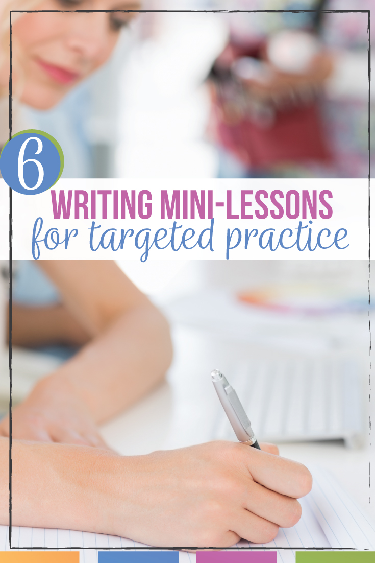 Writing mini lessons can help language arts classes target their student essays. Mini writing lessons include improving verbs, sentence structure, organization, & overused words. Incorporate writing mini lessons into the writing process. Mini lessons for writing work with stations or individuals. Writing process mini lessons connect grammar to writing & teach grammar in context. Improve student essays with graphic organizers, task cars, & writing worksheets. Add writing mini lessons to English.