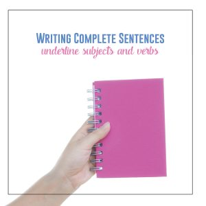 Improve student writing with grammar lessons and a quick subject and verb review.