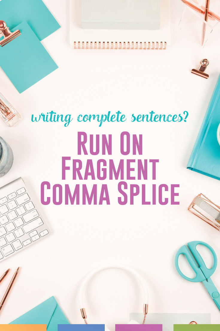 Are your students stuck in their writing with basic sentence structure? Address this common grammar error with a variety of tools for fixing run ons, comma splices, and fragments. #WritingLesson #GrammarError