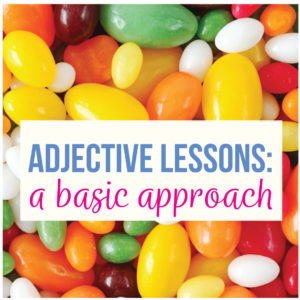 Add adjective activities to your middle school English punctuation activities with coordinate adjective lessons.