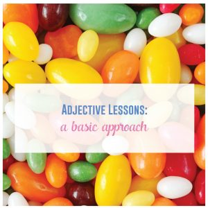 Adjective worksheets can help grammar lessons.