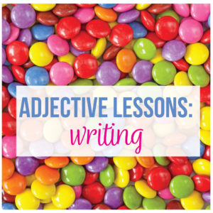 Connect grammar to writing with an adjective lesson plan where teaching adjectives is fun.
