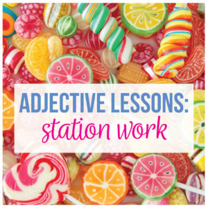 Activities on adjectives help middle school ELA writers. Teaching adjectives provide punctuation rules for secondary students.