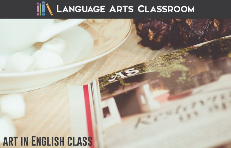 Adding art in English class doesn't require a huge assignment. In fact, the smallest gestures with art pack the most meaning. #HighSchoolELA #MiddleSchoolELA