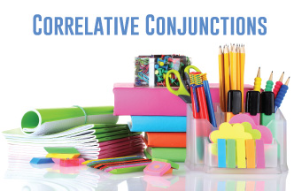 Correlative conjunctions are part of parallelism, sentence structure, and verb voice lessons.
