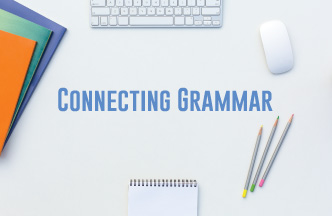 Teaching grammar in context builds grammatical competence. Included is a lesson plan about conjunctions.
