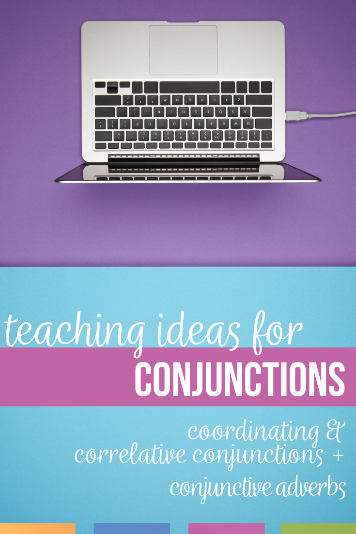Add conjunctions lesson plan to your sentence structure activities for scaffolded grammar practice. Conjunctions activities allow work on semicolon and comma use. A conjunctions activity should connect rammar to writing. Conjunction activities for middle school language arts & high school language arts are part of speech lesson plans & sentence structure lesson plans.