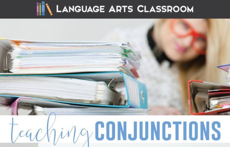 Conjunctions activities help with punctuation lessons. Conjunctions activity engage middle school language arts students. Conjunction activities help sentence structure lessons.