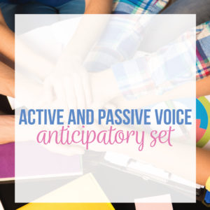 Teaching active and passive voice can engage secondary English students. Teaching passive voice applies directly to student essays.