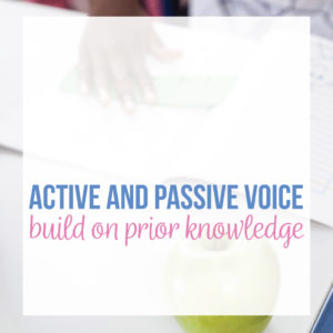 If you're looking for ways to teach passive voice, download this free active and passive worksheet. Included is a lesson plan on active and passive voice.