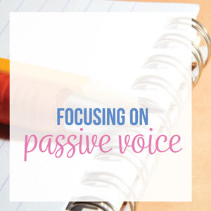 Teaching passive voice requires a discussion of verbs. A passive voice lesson plan can encourage more diverse grammar lessons.