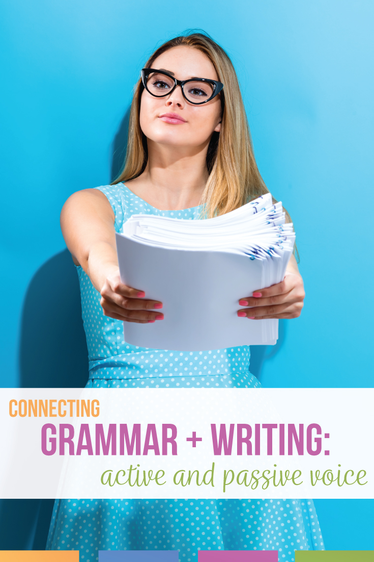 If you're a high school English teacher looking for a lesson plan on active and passive voice, download this active and passive voice activity for free. Add passive voice grammar lessons to your ELA grammar lessons. A passive voice lesson plan is included.