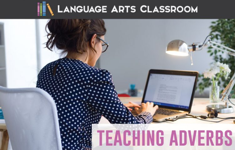 Adverb lesson plans: interact with language and show students how grammar lessons are fun. Make grammar activities interesting with these tips for teaching adverbs. #EightPartsOfSpeech #GrammarLessons