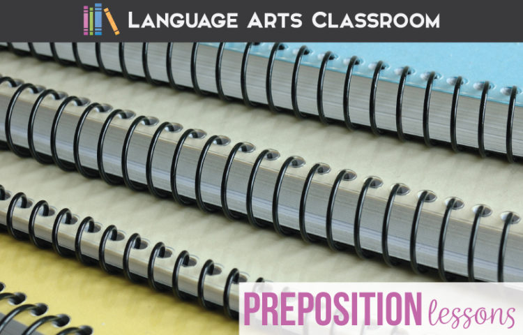 Preposition worksheets! Preposition lesson plans can engage students and be full of hands on grammar activities. Add these prepositional phrase lessons to your ELA content. Pictures for teaching prepositions can engage middle school language arts classes.