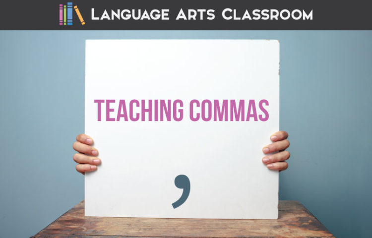 Teaching commas with older students can seem overwhelming. Add these tips to your grammar activities, and watch students understand this punctuation piece. Comma worksheets and comma activities can improve student writing.
