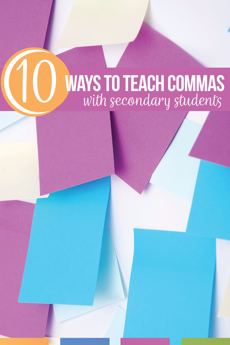 Teaching commas can be engaing & can connect grammar to writing. A simple comma activity is to write with students & model punctuation rules. If an ELA teacher needs how to teach commas in a fun way, try comma activities for corrections & applying writing to pictures. Basic comma usage worksheet practice comma rules for kids. Basic punctuation lesson plans can include comma worksheets. Download this free comma activity for high school English classes. Add comma practice to eighth grade ELA.