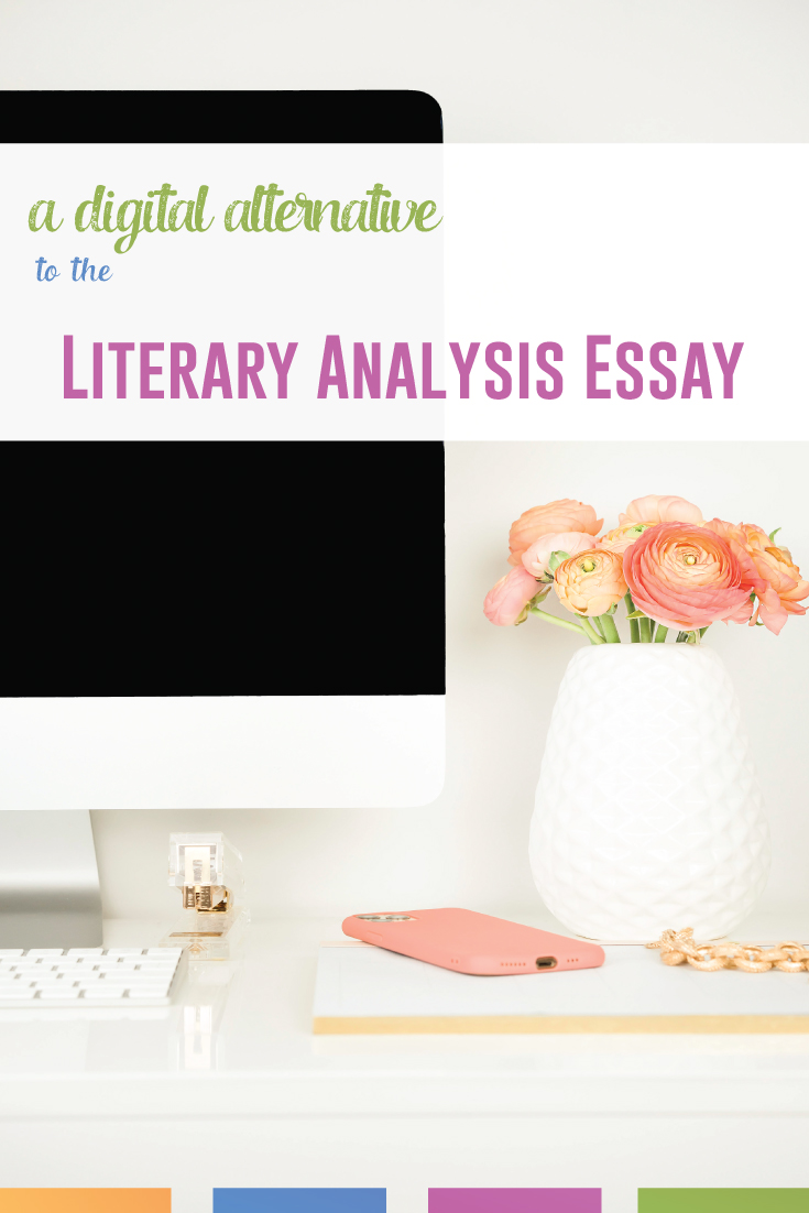 Are your students not ready for a complete literary analysis essay? This digital literary analysis activity is a scaffolded opportunity. #LiteraryAnalysis #LiteratureLessons