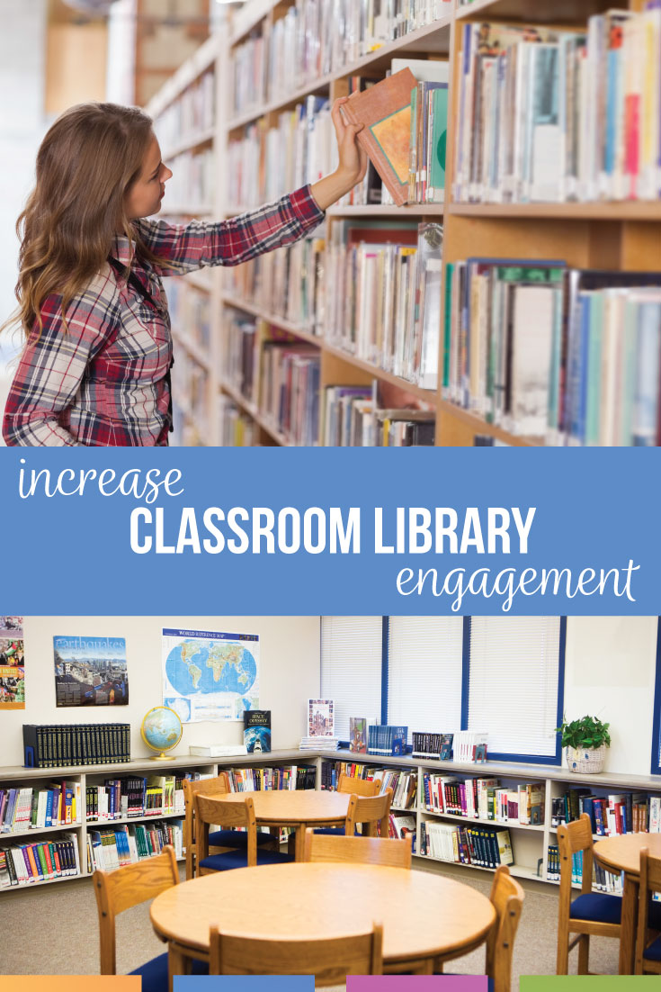 Increase classroom library engagement with purposeful reading & conversations with students. Library engagement starts with teacher modeling & classroom expectations. See classroom library pictures for encouragement. You can shape student reading habits to build a community of readers.