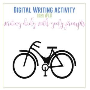 Digital writing activities! Add creative writing distance learning lessons with these digital writing activities. Engage high school ELA distance learners.