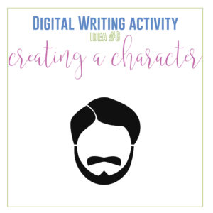 Add creative writing distance learning activities for distance learning writing assignments. These ten digital writing activities provide engaging writing materials.