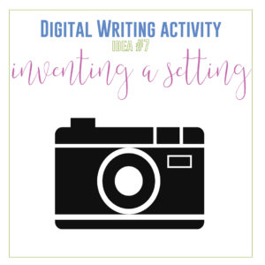 Creative writing distance learning activities: add these ten digital writing lessons to your high school English class.