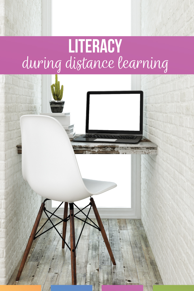 Encouraging literacy distance learning might take experimentation. Distance learning literacy is possible! Add digital one pagers and encourage literacy with older students during distance learning. How to encourage reading in the classroom takes planning and modeling of reading.