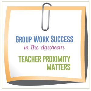 Proximity during instruction matters for student understanding and classroom management.