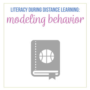 Encourage literacy during distance learning. Distance learning literacy matters. How to encourage students to read? Model reading practices.