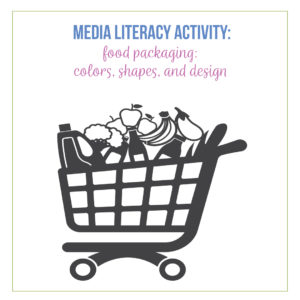 Fun media literacy activities can include food.