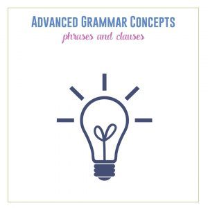 Teaching phrases and clauses provides the basics of sentence structure for students before moving on to punctuation. #GrammarLessons #GrammarActivities