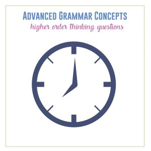 You can capitalize on grammar lessons by providing higher order thinking questions. Here is where to start. #GrammarLessons #GrammarActivities
