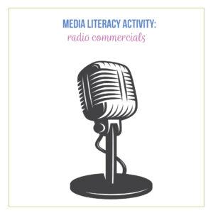 Fun media literacy activities can be verbal.