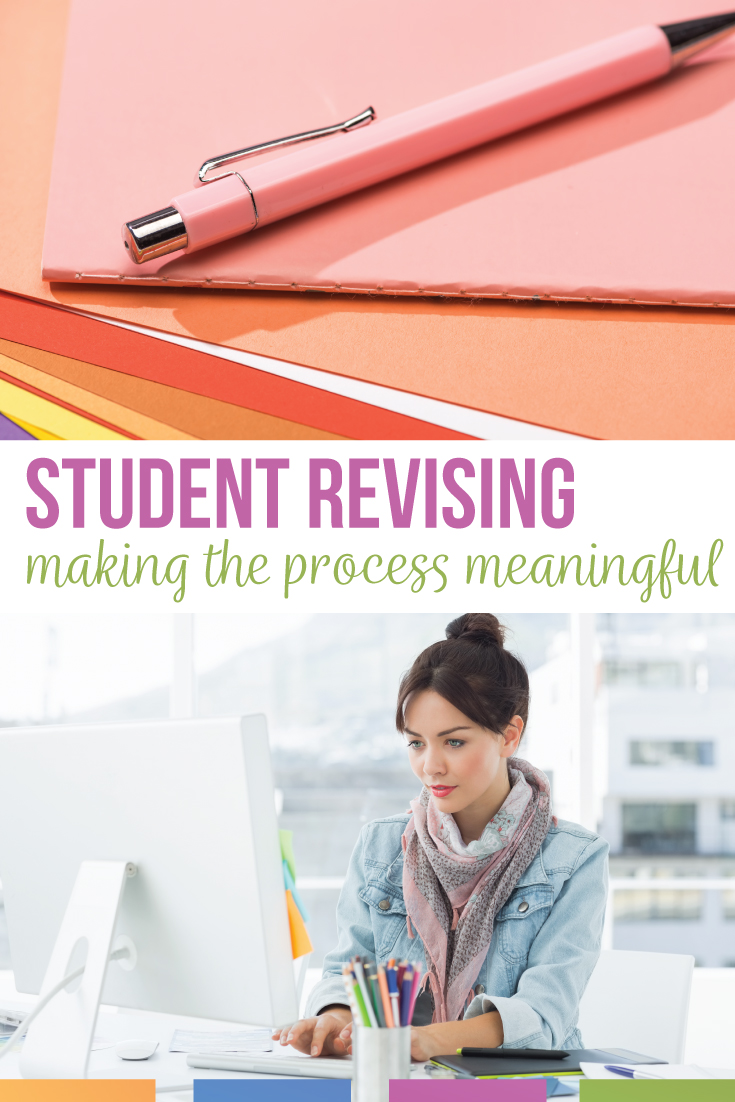 Make student revising meaningful with well placed activities for high school ELA activities. Student revising can include stations and peer work. Editing and revising activities can help student essays. Add these free writing revision activities for students.