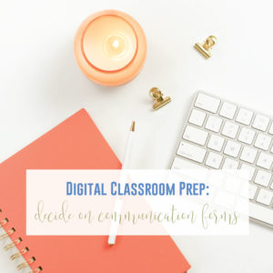 How to set up distance learning? The digital classroom should be organized and helpful to students.