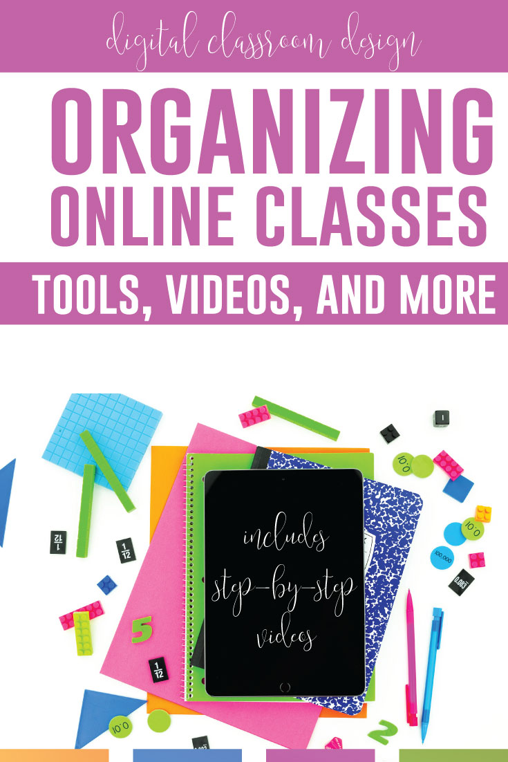 How can you set up digital classroom design? Videos are here for how to set up distance learning. A digital classroom should be clear and organized for the best distance learning classroom setup. Using Google Classroom for distance learning helps secondary teachers! Setting up the digital classroom will organize students.