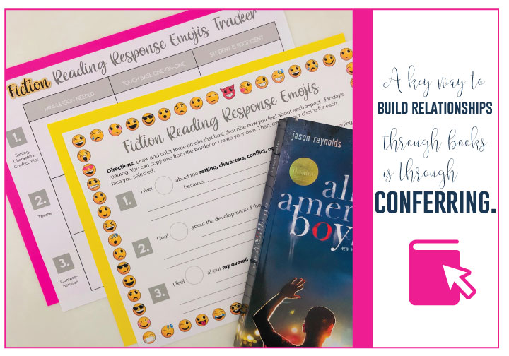 Literacy with students can grow with conferencing.