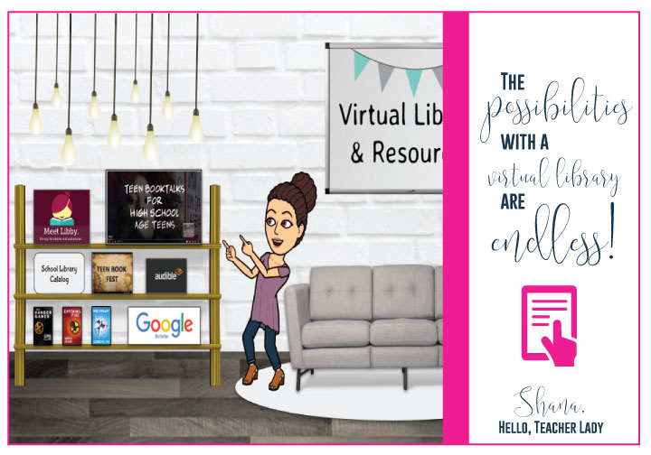 Add a virtual classroom library to your tools.