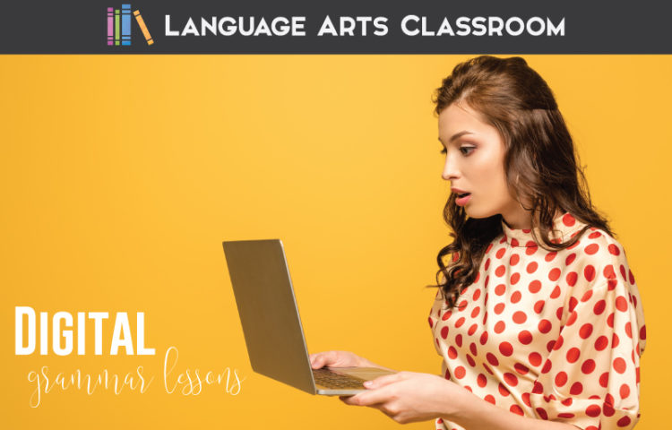 Add digital grammar activities to your middle school language arts lessons. Online grammar lessons can engage English classes.